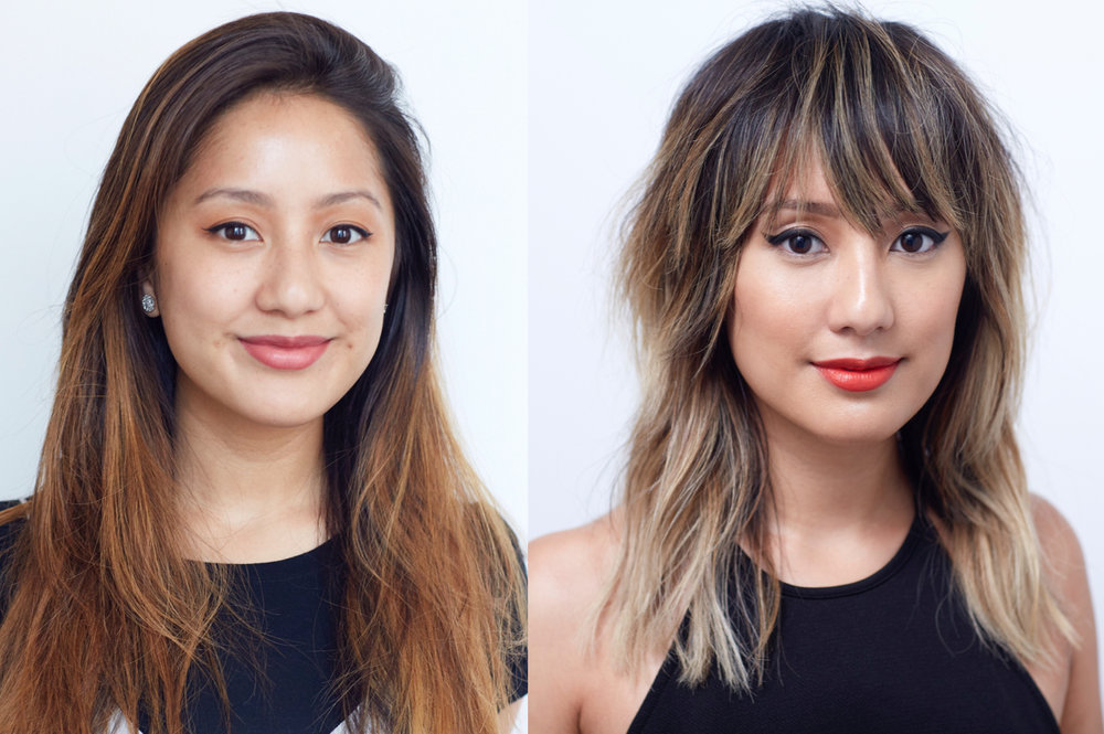 Allure This Allure Editor Gets A Chrissy Tiegen Inspired Hair