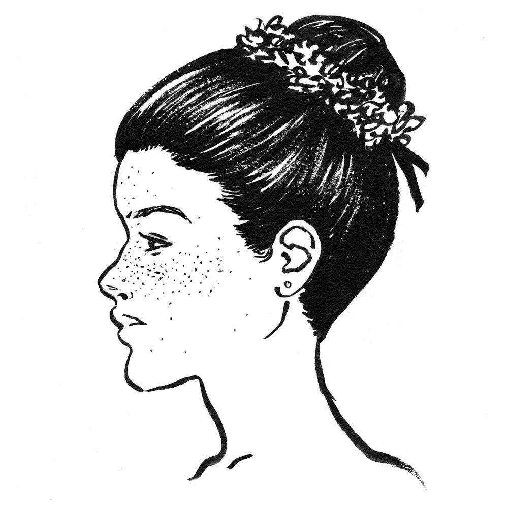 Hair History Topknots Buns Hairstory